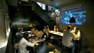 Dumpling den: Inside