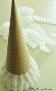 coffee filter trees,
