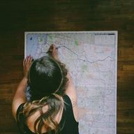 map it out.