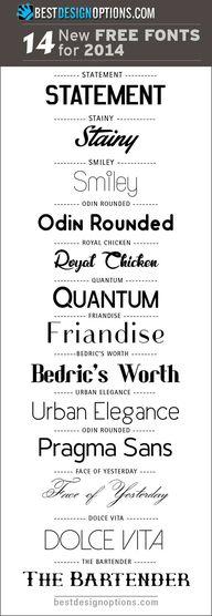 new-free-fonts