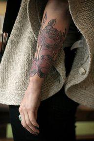 flower tattoo Alice