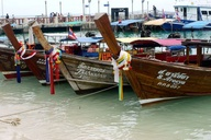 Long Boats in Koh Ph
