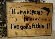 Fishing Key Rack Sig