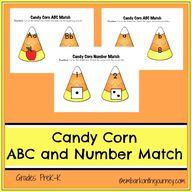 FREE Candy Corn ABC