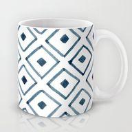indigo ascot mug