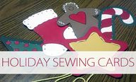 Holiday Sewing Cards