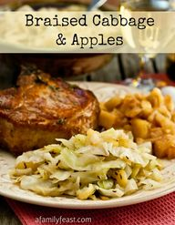Braised Apples and C