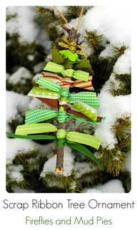 Scrap Ribbon Tree Or
