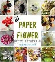30 Paper Flower Craf