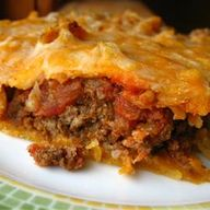 Taco Pie - Allrecipe