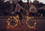 Light bicycle