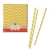 Yellow & White Strip