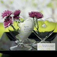 Mini Blown Glass Hea