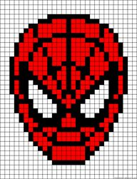 Spiderman perler bea