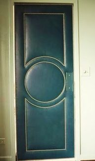 Upholstered door