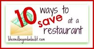 10 Ways to Save at R