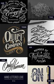 Hand Lettered Love a...