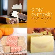 9 DIY Pumpkin Soap R