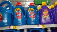 Ajax Laundry Deterge