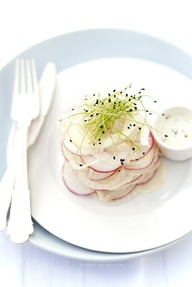 Fennel, radish and l