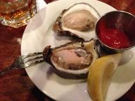 P & J oysters @ Luke
