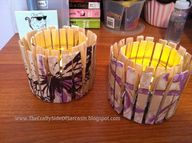 Tea votives made fro