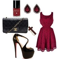 gothic chic, created by tana21 on Polyvore