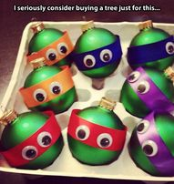 TMNT ornaments! So e