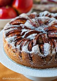Apple Topped Cake -