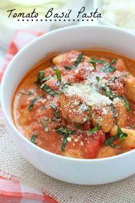 Easy Tomato Basil Pa