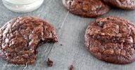 Chewy brownie cookie