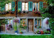 Pretty housefront...
