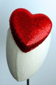 a love fascinator by