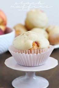 Peach Muffins -easy