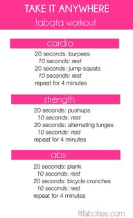 Printable Workout: ""