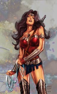WONDER WOMAN by MixG