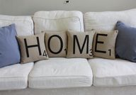 HOME Letter Pillows