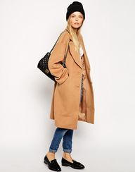Cozy cocoon coat