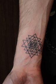 Great geometric tatt