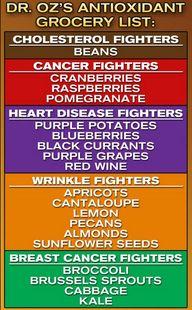 Antioxidants reduce