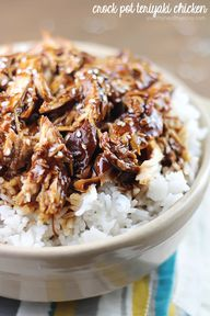 Crock Pot Teriyaki C