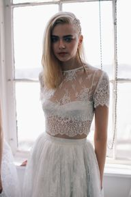 Crop top bridal // #