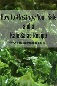 Show your kale some