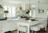 White Kitchen. White