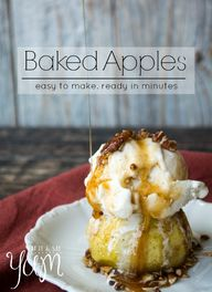 Baked Apples that ar