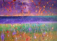 abstract schilderen...