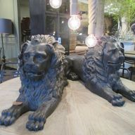 Our Lion Statue by B