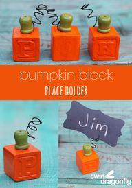 Pumpkin Block Place