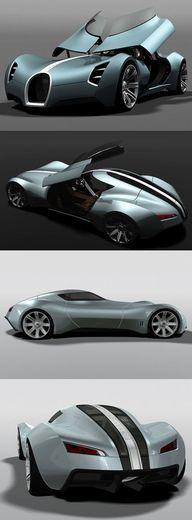 ♂ Concept car Bugatt