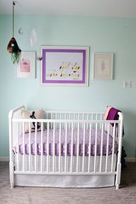 Whimsical Purple and